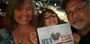 Todd, Jenn and Jules! attended Backstreet Boys: Dna World Tour - Pop on Sep 4th 2019 via VetTix