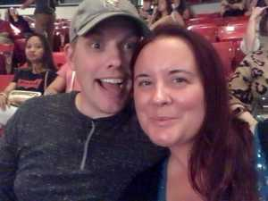 Patrick attended Backstreet Boys: Dna World Tour - Pop on Sep 4th 2019 via VetTix