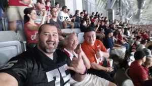 Peter attended Arizona Cardinals vs. Oakland Raiders - NFL Preseason on Aug 15th 2019 via VetTix