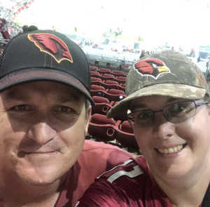 Joshua attended Arizona Cardinals vs. Oakland Raiders - NFL Preseason on Aug 15th 2019 via VetTix
