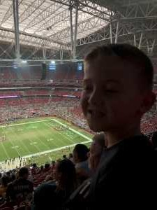 Justin attended Arizona Cardinals vs. Oakland Raiders - NFL Preseason on Aug 15th 2019 via VetTix