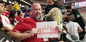 david attended Arizona Cardinals vs. Oakland Raiders - NFL Preseason on Aug 15th 2019 via VetTix