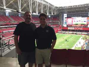 Jess attended Arizona Cardinals vs. Oakland Raiders - NFL Preseason on Aug 15th 2019 via VetTix