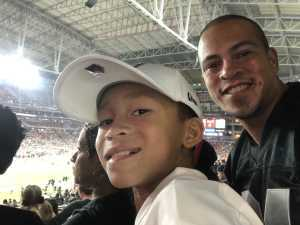 Damien attended Arizona Cardinals vs. Oakland Raiders - NFL Preseason on Aug 15th 2019 via VetTix