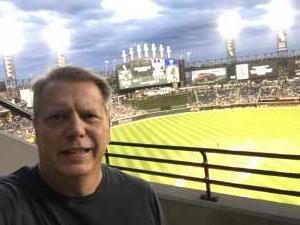 Wes attended Chicago White Sox vs. Texas Rangers - MLB on Aug 22nd 2019 via VetTix