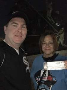 Michael Ruane attended Chicago White Sox vs. Texas Rangers - MLB on Aug 22nd 2019 via VetTix