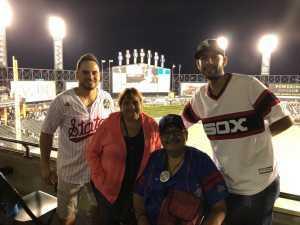 MIGUEL (Mike) attended Chicago White Sox vs. Texas Rangers - MLB on Aug 22nd 2019 via VetTix