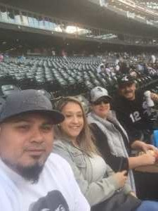 Victor attended Chicago White Sox vs. Texas Rangers - MLB on Aug 22nd 2019 via VetTix