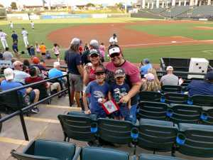 Jeremy attended Round Rock Express vs San Antonio Missions - MiLB on Aug 28th 2019 via VetTix
