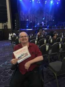 Bradley attended Great White & Slaughter on Sep 6th 2019 via VetTix