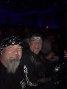 Gerald attended Great White & Slaughter on Sep 6th 2019 via VetTix