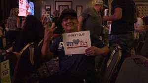 Juan attended Great White & Slaughter on Sep 6th 2019 via VetTix