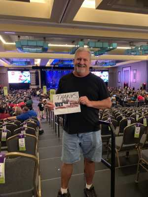 James attended Great White & Slaughter on Sep 6th 2019 via VetTix