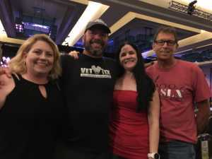 christopher attended Great White & Slaughter on Sep 6th 2019 via VetTix