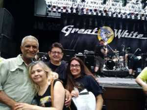 Jesus attended Great White & Slaughter on Sep 6th 2019 via VetTix