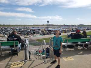 Monique attended 2019 KSC Hollywood Casino 400 - Monster Energy NASCAR Cup Series on Oct 20th 2019 via VetTix