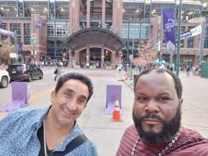 Lawrence attended Colorado Rockies vs. St. Louis Cardinals - MLB on Sep 11th 2019 via VetTix
