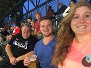 Julia attended Colorado Rockies vs. St. Louis Cardinals - MLB on Sep 11th 2019 via VetTix