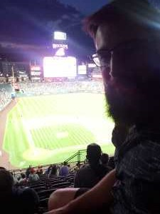 Cody attended Colorado Rockies vs. St. Louis Cardinals - MLB on Sep 11th 2019 via VetTix