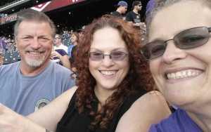Patricia attended Colorado Rockies vs. St. Louis Cardinals - MLB on Sep 11th 2019 via VetTix