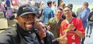 Jamar attended Colorado Rockies vs. St. Louis Cardinals - MLB on Sep 11th 2019 via VetTix