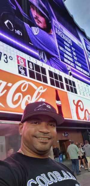 GMR attended Colorado Rockies vs. St. Louis Cardinals - MLB on Sep 11th 2019 via VetTix
