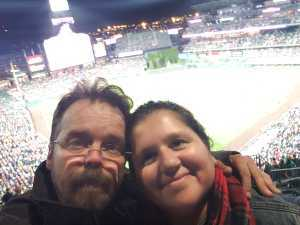 Corina attended Colorado Rockies vs. St. Louis Cardinals - MLB on Sep 11th 2019 via VetTix