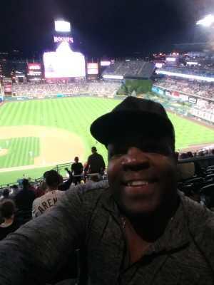 Chris attended Colorado Rockies vs. St. Louis Cardinals - MLB on Sep 11th 2019 via VetTix