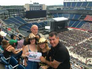 Nicole attended George Strait - Live in Concert on Aug 17th 2019 via VetTix