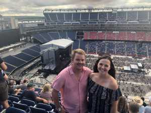 Zachary attended George Strait - Live in Concert on Aug 17th 2019 via VetTix