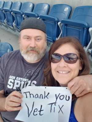 The Pereira's attended George Strait - Live in Concert on Aug 17th 2019 via VetTix