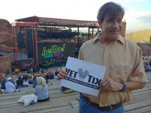 Ron attended Lionel Richie - Tonight! on Aug 14th 2019 via VetTix