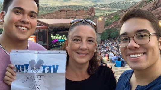 James attended Lionel Richie - Tonight! on Aug 14th 2019 via VetTix