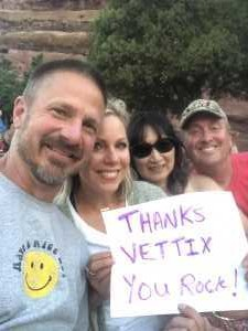 ERIC attended Lionel Richie - Tonight! on Aug 14th 2019 via VetTix