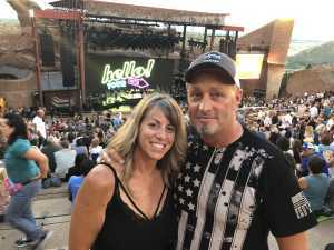 Nicklaus attended Lionel Richie - Tonight! on Aug 14th 2019 via VetTix