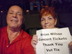 David attended Brian Wilson & the Zombies: Something Great From '68 Tour - Pop on Sep 6th 2019 via VetTix