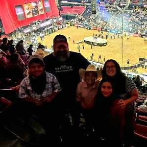 Eliot attended PBR Professional Bull Riders - Anaheim Invitational - Friday Only on Sep 6th 2019 via VetTix