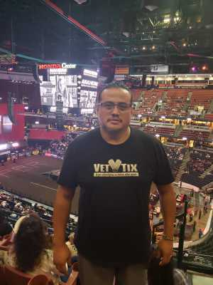 John attended PBR Professional Bull Riders - Anaheim Invitational - Friday Only on Sep 6th 2019 via VetTix