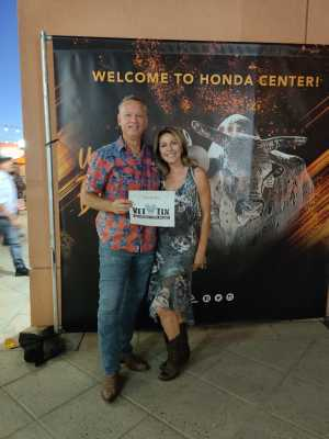 Paul attended PBR Professional Bull Riders - Anaheim Invitational - Friday Only on Sep 6th 2019 via VetTix