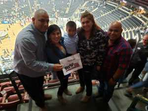 NICKOLAS attended PBR Professional Bull Riders - Anaheim Invitational - Friday Only on Sep 6th 2019 via VetTix
