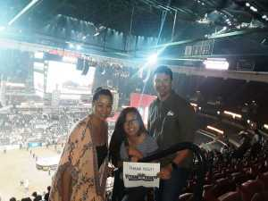 Marcus attended PBR Professional Bull Riders - Anaheim Invitational - Friday Only on Sep 6th 2019 via VetTix