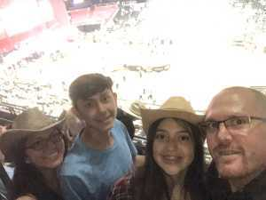 Anthony attended PBR Professional Bull Riders - Anaheim Invitational - Friday Only on Sep 6th 2019 via VetTix