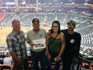 Stephen attended PBR Professional Bull Riders - Anaheim Invitational - Friday Only on Sep 6th 2019 via VetTix