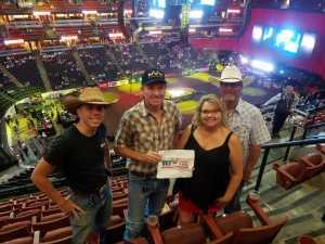 Daniel attended PBR Professional Bull Riders - Anaheim Invitational - Friday Only on Sep 6th 2019 via VetTix