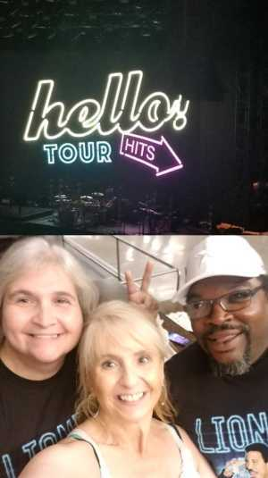 Phillip attended Lionel Richie - R&b on Aug 21st 2019 via VetTix