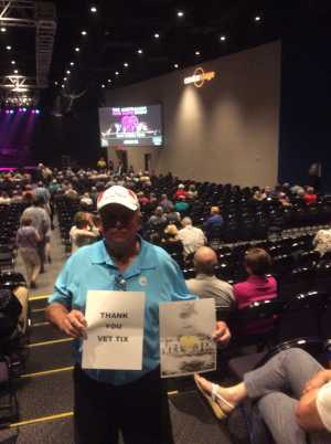 Ralph attended Terry Fator - 21 and Older Only on Aug 22nd 2019 via VetTix