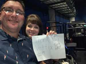 Keith attended Terry Fator - 21 and Older Only on Aug 22nd 2019 via VetTix