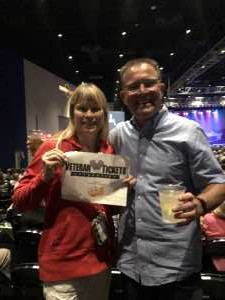 stephanie attended Terry Fator - 21 and Older Only on Aug 22nd 2019 via VetTix