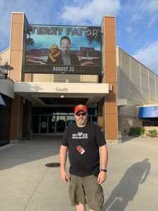 Danny attended Terry Fator - 21 and Older Only on Aug 22nd 2019 via VetTix
