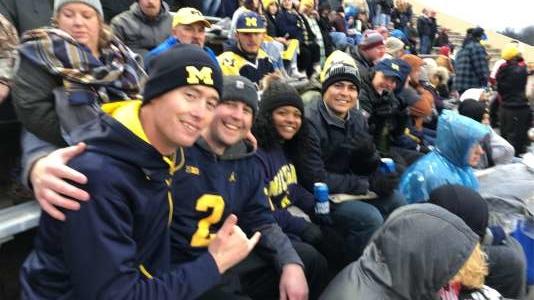 Justin attended Indiana Hoosiers vs. Michigan - NCAA Football on Nov 23rd 2019 via VetTix